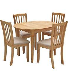 Homebase extendable dining set