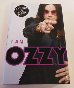 Ozzy Osbourne SIGNED I Am Ozzy Book 1st Edition Hardback  New