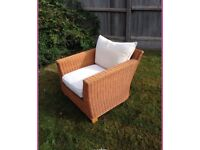 """Pair of """"next"""" the Home ware wicker chairs"""
