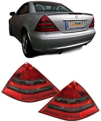 LED Rückleuchten rot schwarz für Mercedes SLK R170