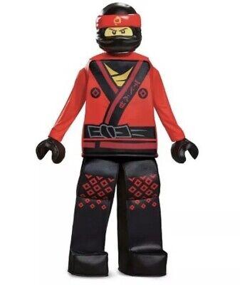 Kai Ninjago Lego Boy's Prestige Halloween Costume Size Large (10-12) - Red Ninjago Halloween Costume