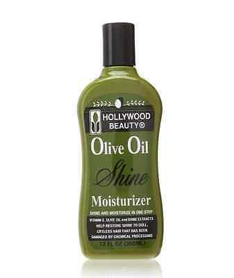 Hollywood Beauty Olive Oil Moist - Shine Moisturizing Hair Lotion, 12 oz