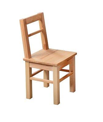 Kinderstuhl 99-2 Beistellstuhl Dekostuhl Stuhl Kinder Möbel Kernbuche massiv