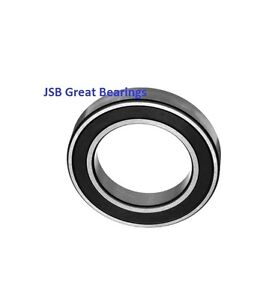 Qty 1 6908 2rs Two Side Rubber Seals Bearing 6908 Rs Ball