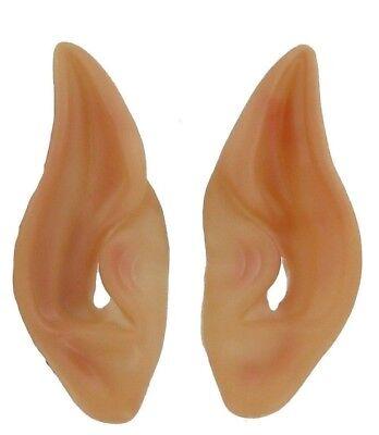 POINTED ALIEN EARS ELF FAUN FAIRY PETER PAN SPOCK SPACE LARP VULCAN COSTUME - Alien Ears