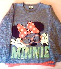 Minnie Mouse wooly jumper