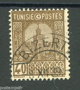 TUNISIE-1926-28-timbre-131-MOSQUEE-oblitere