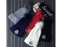 Brand new unisex moncler beanie hats with pompom