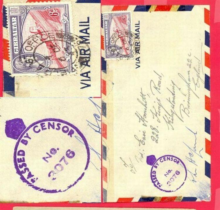 Gibraltar UK GB Colombia 3 Diff Censor Cover - $7.00