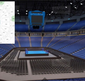 ANTHONY JOSHUA V MOLINA WHYTE V CHISORA MANCHESTER LOWER TIER 4 TICKETS AVAILABLE (In Hand)