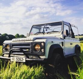 Land Rover Defender 90 - Soft Top 1993