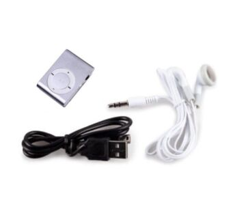 MP3 music media player with charger and earphone
