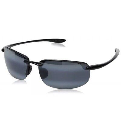 "91b59884033 NEW  Maui Jim ""Ho okipa"" Black Rimless Polarised Sunglasses (407-"