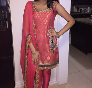 Indian Boutique Suit with Pockets!!