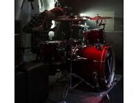 Pearl vision VBX Ruby Fade Drum kit (Cymbals Included)