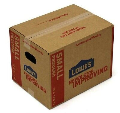 6x6x4 Shipping Moving Packing Boxes 25 ct