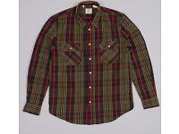 Levi's Vintage Designer 1950 Shorthorn Western Shirt XS RRP £130