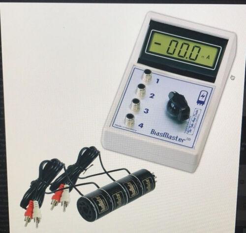 Bias Master System BM4 TAD, with 4 Octal  Sockets - Tube Bias Measuring Meter