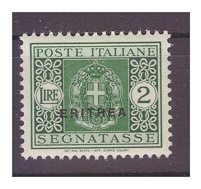 ERITREA 1934 - SEGNATASSE   Lire 2  NUOVO **