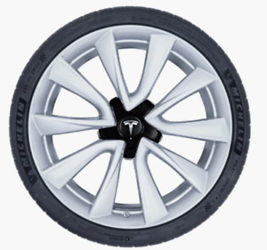 "Tesla Model 3 20"" Sport Wheel and Tire Package (Michelin Pilot S"