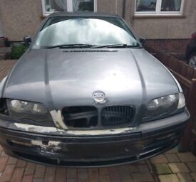 BMW 330i sport (E46) breaking - parts only