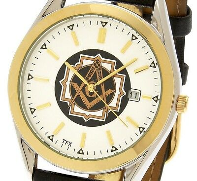 Blue Lodge Masonic Watch - Men's Two Tone TFX by Bulova Masonic Blue Lodge Watch