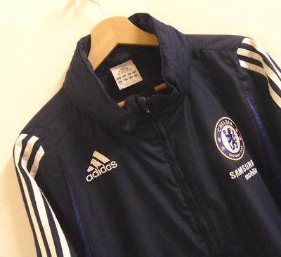 Adidas Mens Chelsea Hooded Coat /  Jacket Size XL Original : J549