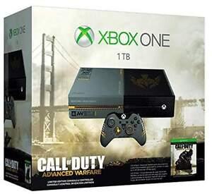 Xbox one 1TB call of duty advanced warfare