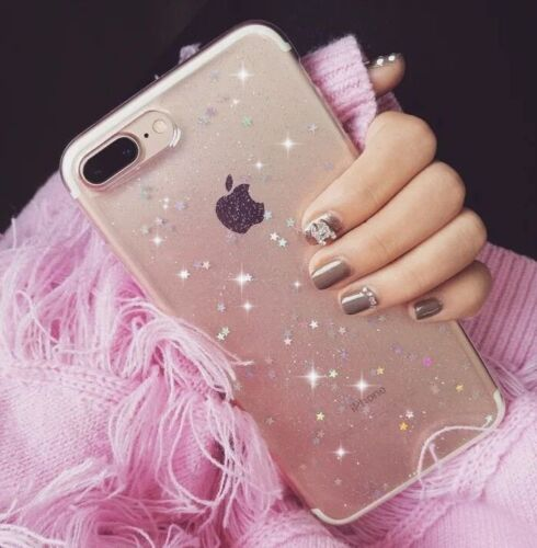 Luxury Bling Glitter Soft Shockproof Silicone Case Cover For iPhone X 7 Plus 8 P