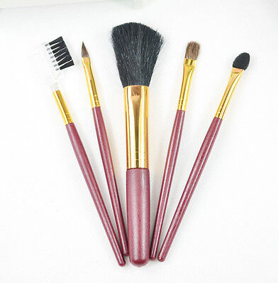 New Makeup Cosmetic Soft Brush Set Kit 5 PCS Cosmetic Tool Make Up   #ddia04 on Rummage