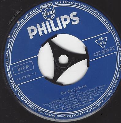 Die drei Jacksons am Akkordeon : Akkordeon-Potpourri Philips