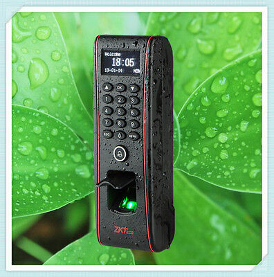 Ip65 Outdoor Waterproof Fingerprint Access Control Terminal Tf1700 Zksoftware