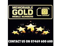 GOLD VIP MOBILE MEMORABLE NUMBERS