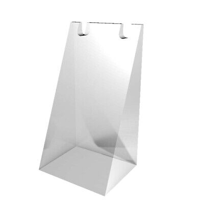 Clear Acrylic Plexiglass Necklace Jewelry Stand Countertop Display 11620-12b