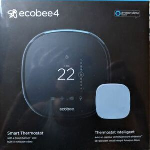 ECOBEE 4 SMART THERMOSTAT - BRAND NEW IN SEALED BOX $200