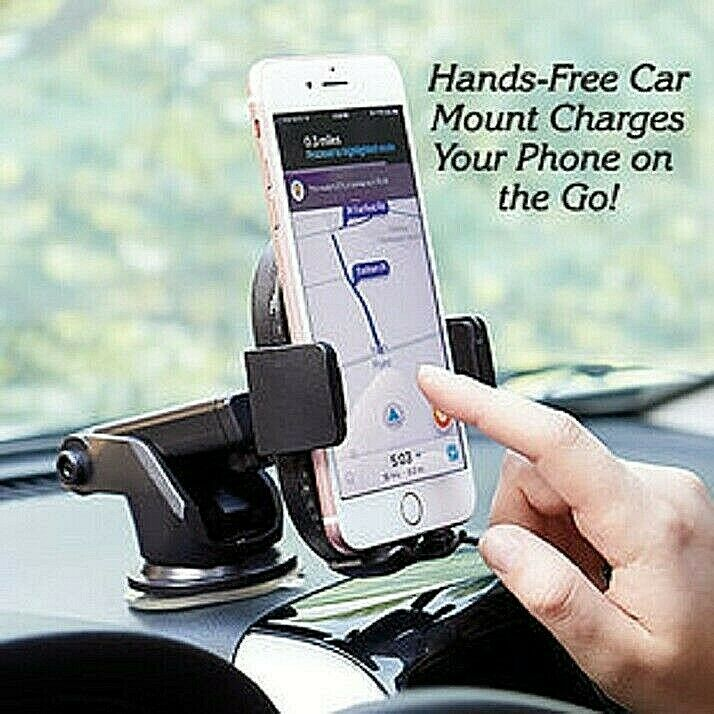 """Wireless Charging Mobile Phone Car Mount """"Qi-enabled devices"""" iPhone Samsung…. Cell Phone Accessories"""