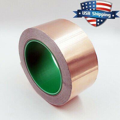 Copper Foil Tape - 2in X 82ft 28yds 25m - Emi Conductive Adhesive