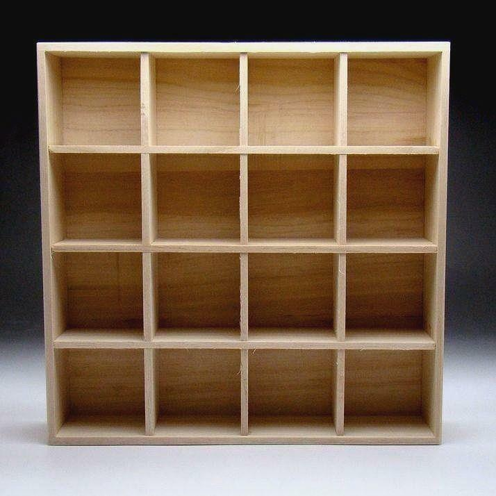 XA1: Japanese Sake Cup Collection Wooden Stand, Storage Case