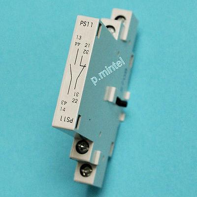 Ernst / ISKRA PS11 Hilfsschalter 1Ö/1S rastbar für Motorschutzschalter MS25