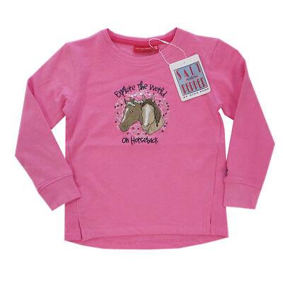 Salt and Pepper Sweatshirt Shirt rosa Pferd Mädchen Gr.116/122,128/134,140/146 ()