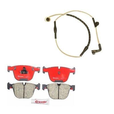 Rear Disc Brake Pads And Sensor Kit Brembo Fits: BMW 745i 745Li 750i 750Li 760Li