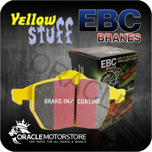 NEW EBC YELLOWSTUFF FRONT BRAKE PADS SET PERFORMANCE PADS OE QUALITY - DP41207R