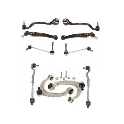 BMW E70 E72 Front Control Arms with Tie Rod Ends & Sway Bar Links Kit Lemforder