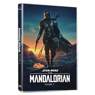 The Mandalorian 2 DVD, Complete Second Season 3-Disc Set New