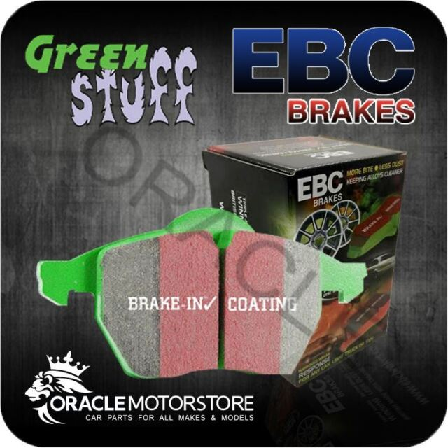 NEW EBC GREENSTUFF FRONT BRAKE PADS SET PERFORMANCE PADS OE QUALITY - DP61616