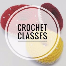 Beginners Crochet Classes at Sew Confident