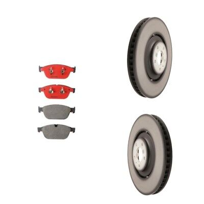 Audi A8 Quattro SQ5 Front Brake Pad Set and Left and Right Disc Rotors Kit NEW