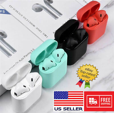 Bluetooth Earbuds Wireless Headphones Headset Stereo Auto Pair Supreme Quality