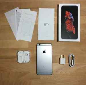 I phone 6s 16 gb roger with box and everything. With case