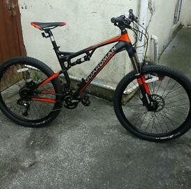 Mountain bike boardman full suspension